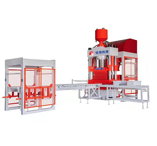 HSY600/800/1000/1500型 全自動液壓制磚機